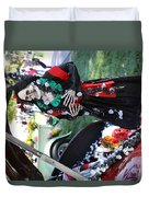 Day Of The Dead Car Trunk Skeleton  Duvet Cover