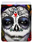Day Of The Dead Duvet Cover