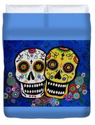 Day Of The Dead Sugar Duvet Cover