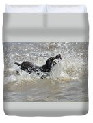 Day On The River Duvet Cover