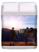 Daybreak Duvet Cover by Corey Ford