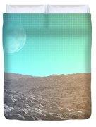 Daylight In The Desert Duvet Cover