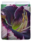 Daylily Collection #12 Duvet Cover