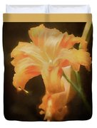 Daylily Dream Duvet Cover