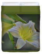 Daylily In Yard Duvet Cover