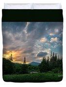 Days End In The Bog Duvet Cover