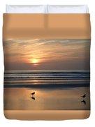 Daytona Sunrise Duvet Cover