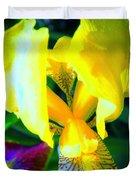 Dazzle In The Garden Sun Duvet Cover