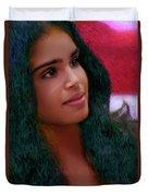 Dazzling Beauty Duvet Cover
