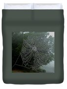 Db6325-dc Spiderweb On Sonoma Mountain Duvet Cover