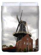 De Adriann Windmill - Haarlem The Netherlands Duvet Cover