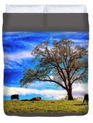 De Hoek Farm Duvet Cover