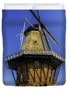 De Zwaan Windmill In Holland Duvet Cover