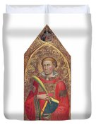 Deacon Saint, With Saint Anthony Abbot Duvet Cover