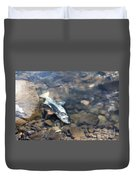 Dead Chinook Salmon Duvet Cover