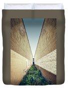 Dead End Alley Duvet Cover