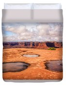 Dead Horse Pools Duvet Cover