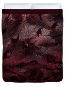 Dead Leaves Duvet Cover