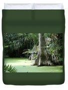 Wild Florida Dead Mans River Duvet Cover