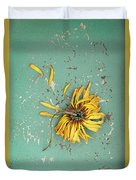 Dead Suflower Duvet Cover