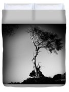 Dead Tree Bw Duvet Cover