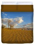 Dead Tree In The Desert  Duvet Cover