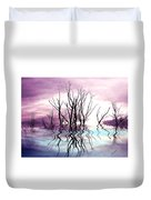 Dead Trees Colored Version Duvet Cover