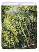 Dead Trees Duvet Cover