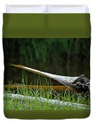 Deadwood And Pine Reflections Duvet Cover