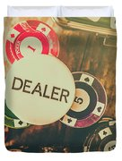 Dealers House Edge Duvet Cover