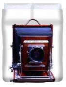 Deardorff 8x10 View Camera Duvet Cover by Joseph Mosley