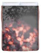 Death Blooms Duvet Cover