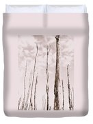 Death Of A Forest Duvet Cover