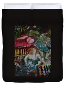 Death Of Beauty Duvet Cover