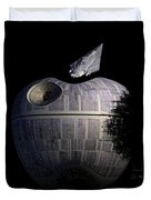 Death Star Apple Duvet Cover