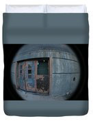 Death Stars Back Door Duvet Cover by Artist Orange