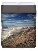 Death Valley 10 Duvet Cover