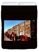 Death Valley Borax Wagons Duvet Cover