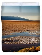 Death Valley California Duvet Cover