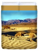 Death Valley Duvet Cover