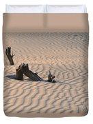 Death Valley Morning Duvet Cover by Sandra Bronstein