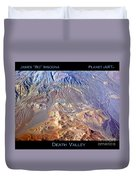 Death Valley Planet Earth Duvet Cover