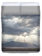 Death Valley Sky Duvet Cover