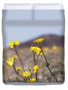 Death Valley Super Bloom 2016 Duvet Cover