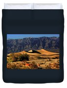 Death Valley's Mesquite Flat Sand Dunes Duvet Cover by Christine Till
