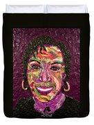 Deb A Self Portrait Duvet Cover