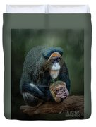 Debrazza's Monkey And Baby Duvet Cover