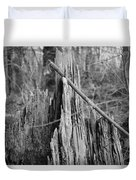 Decayed Stump Duvet Cover