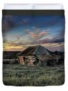 Decaying Cottage Duvet Cover