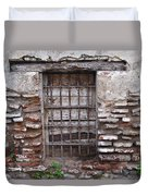 Decaying Wall And Window Antigua Guatemala 2 Duvet Cover